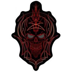 Tribal skull patch 16x10
