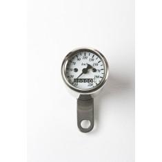 Mini Cuentakilómetros esfera blanca