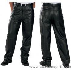 calças jeans PRETO DE COURO  tamanho XL