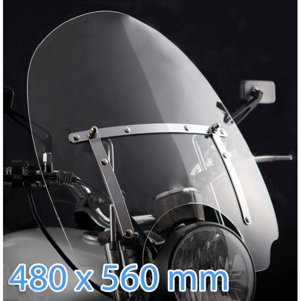custom windshield for Suzuki VL800 VOLUSIA - Custom Spirit